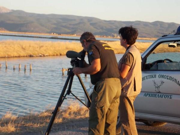 Η Β Κυνηγετική Ομοσπονδία Αρχιπελάγους σε περιβαλλοντικές συζητήσεις με παιδιά
