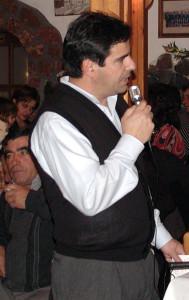 Ο Πρόεδρος των Κυνηγών Θήρας, κ.Γιάννης Γαβαλάς